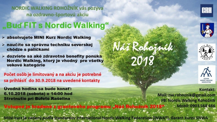 Buď fit s Nordic Walking